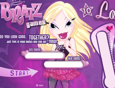 Bratz szerelem hőmérő